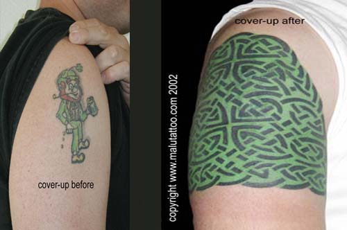 Celtic Tattoo Cover-Up
