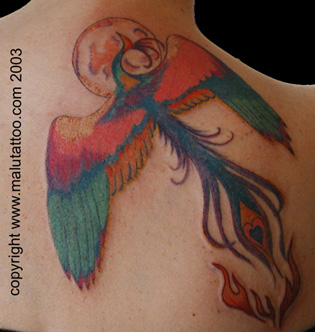 Color Tattoo Phoenix