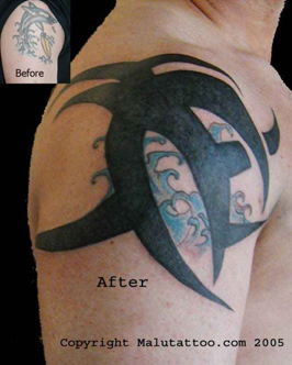 Tribal Tattoo Cover-Up