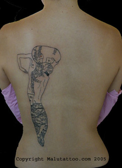 Tribal Tattoo Back 2