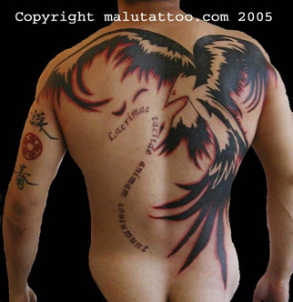 Tribal Tattoo Back Phoenix